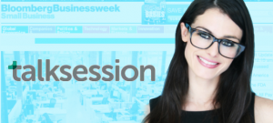 TalkSession.com CEO, Melissa Thompson, in Bloomberg Businessweek