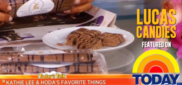 Lucas Candies on the TODAY Show
