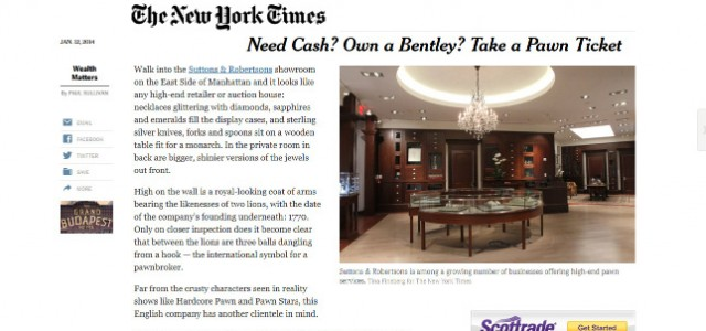 Atria Group Featured on the Cover of New York Times Sunday Business Section