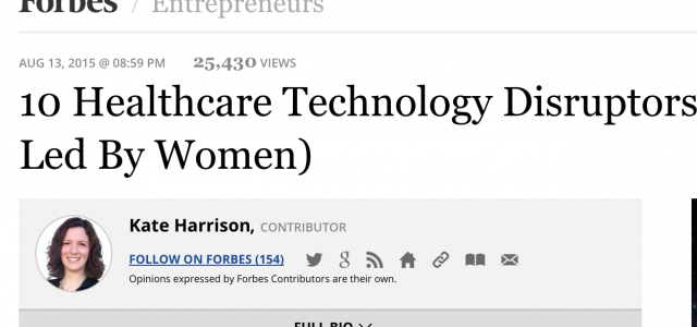 Caremerge featured in Forbes